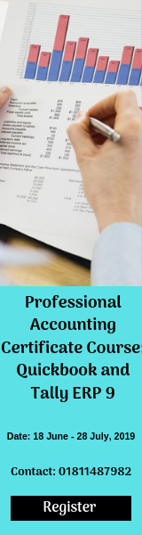 Professional Accounting Certificate Course: Quickbook & Tally ERP 9